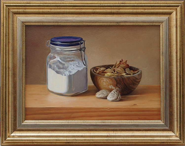 Натюрморт с буркан, 2013 - 27×38 см.