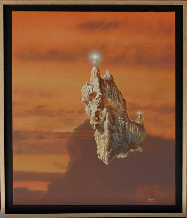 """""""Lighthouse"""", 2014 -60×50 см."""