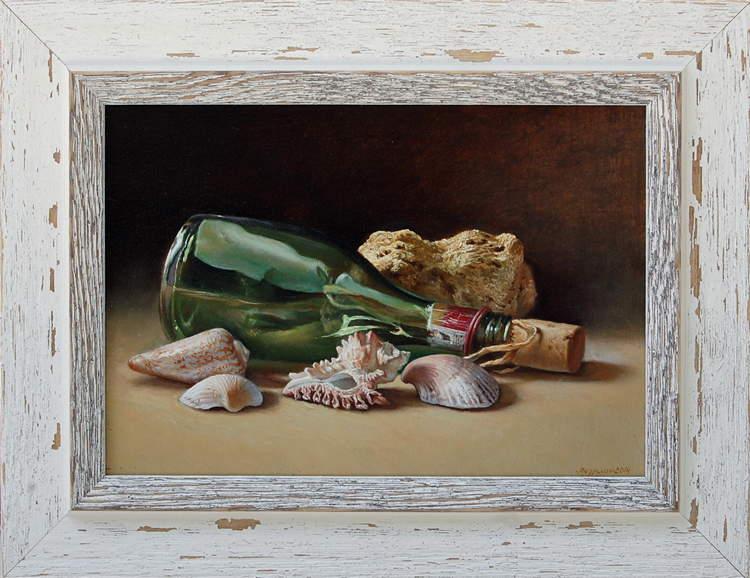 """""""Писмо в бутилка"""", 2014 – 20×15 см."""