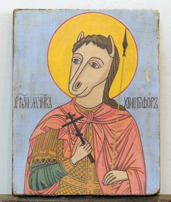 Ikona Sveti Hristofor