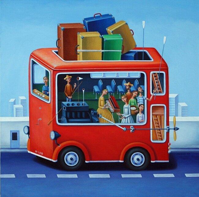 Кирил Митовски - Автобус 1.618