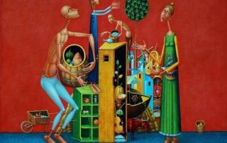 Kiril Mitovski - kartina - kompozicia