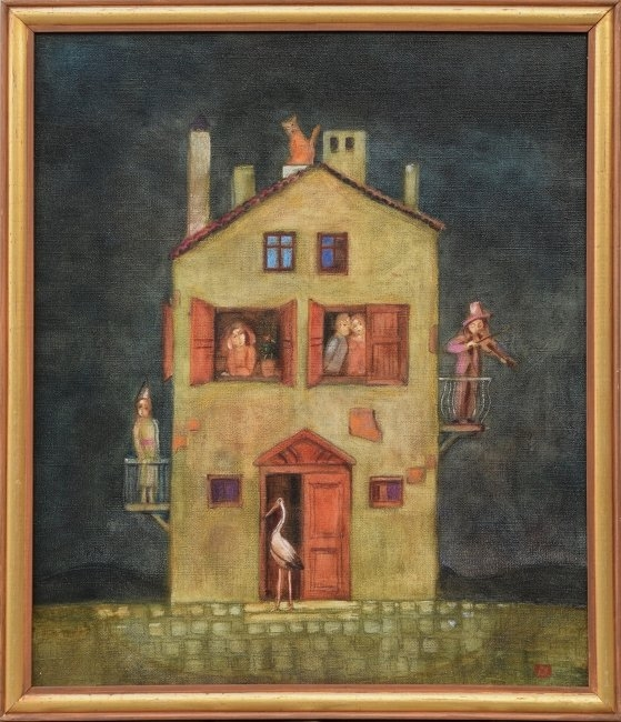 Петър Димов - Пълната къща 70x60
