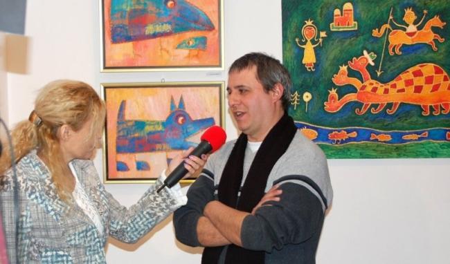 осен Рашев Рошпака - интервю изложба