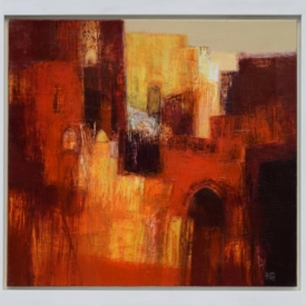 Ruslan Kotev- Red City I_1-55x60