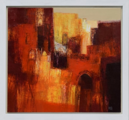 Ruslan Kotev- Red City I_1-55x60