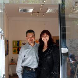 Boris and Nadia, Art Gallery Paris