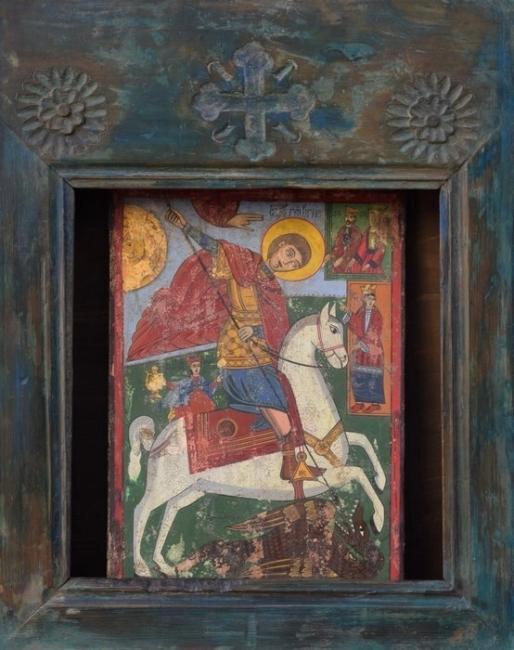 ikonostas-Sveti georgi