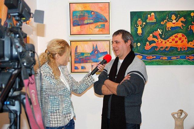 Rosen Rashev- Roshpak v galeria Paris