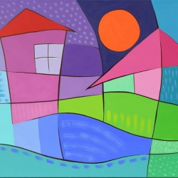 Anna Dimova - Sled buria 60x70