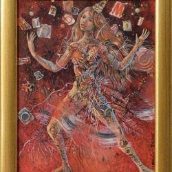 Даниела Зекина - Жонглиране с думи- 25x20 - 2013