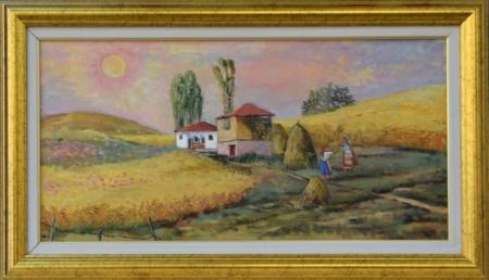 Лято - картина от Димитър Вецин