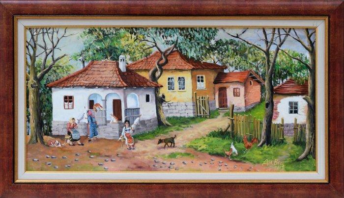 Dimitar Vetsin - Na dvora 35x70