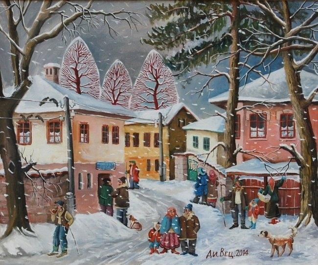 Димитър Вецин - Първи сняг 2014