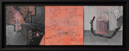 NEVENA - Flying objects-20x60cm