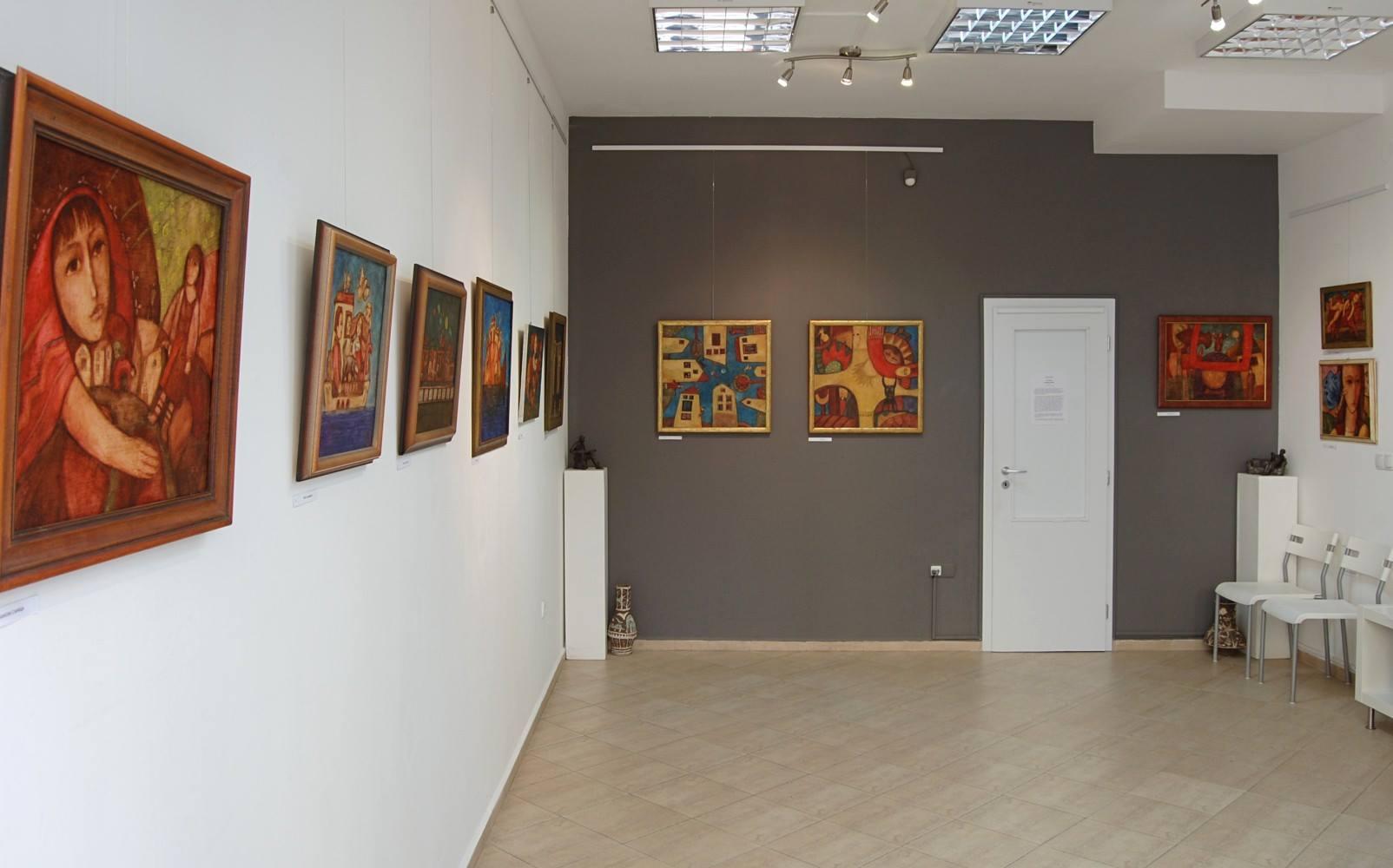 Петър Димов- изложба Балкански сънища-Галерия Париж
