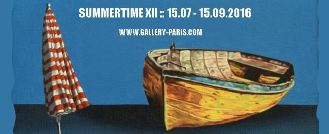SUMMERTIME 2016 - Galeria Paris