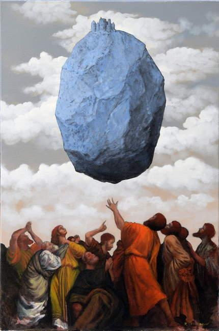 Vladimir Ovcharov - Magrit idva- 91x61cm