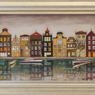 Vladimir Shunev - Amsterdam - 38x55