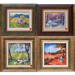 Димитър Вецин - малки картини от изложба 2016