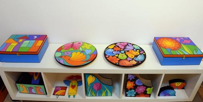 Анна Димова - рисувани чинии