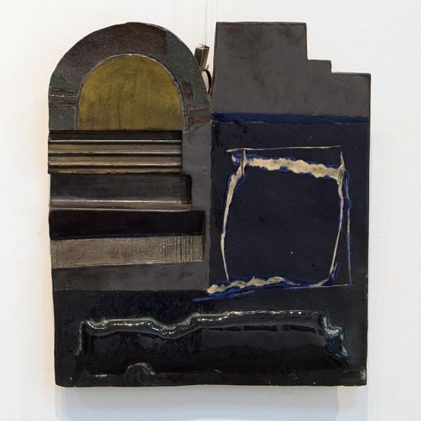 Димитър Николаев - абстрактно керамично пано