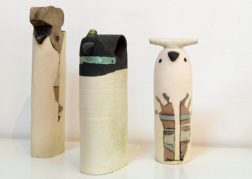 Dimitar Nikolaev - keramichni skulpturi s pileta-2