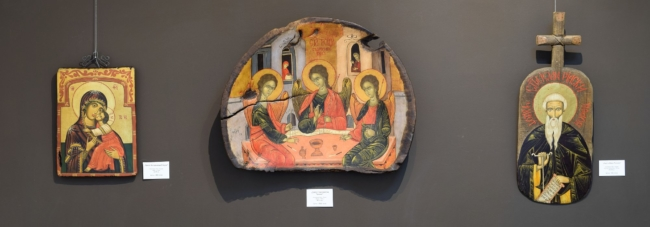 Анита и Георги Ненчеви-изложба с икони