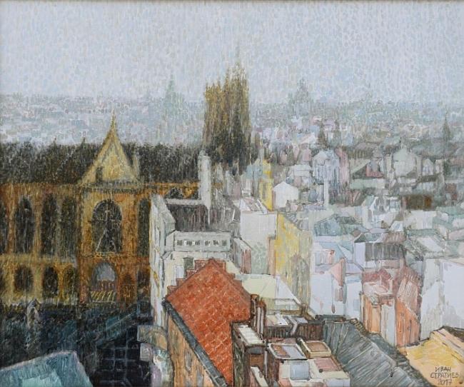 Ivan Stratiev - Dazhdoven Paris-54x65