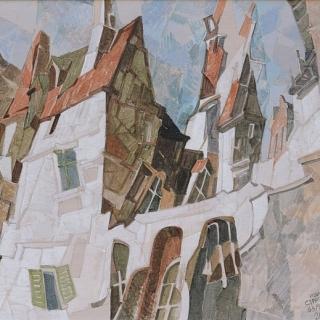 Ivan Stratiev - Parizhki zamak II - 37x45-akril