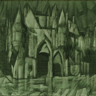 Ivan Stratiev -Zamak v zeleno-38x46