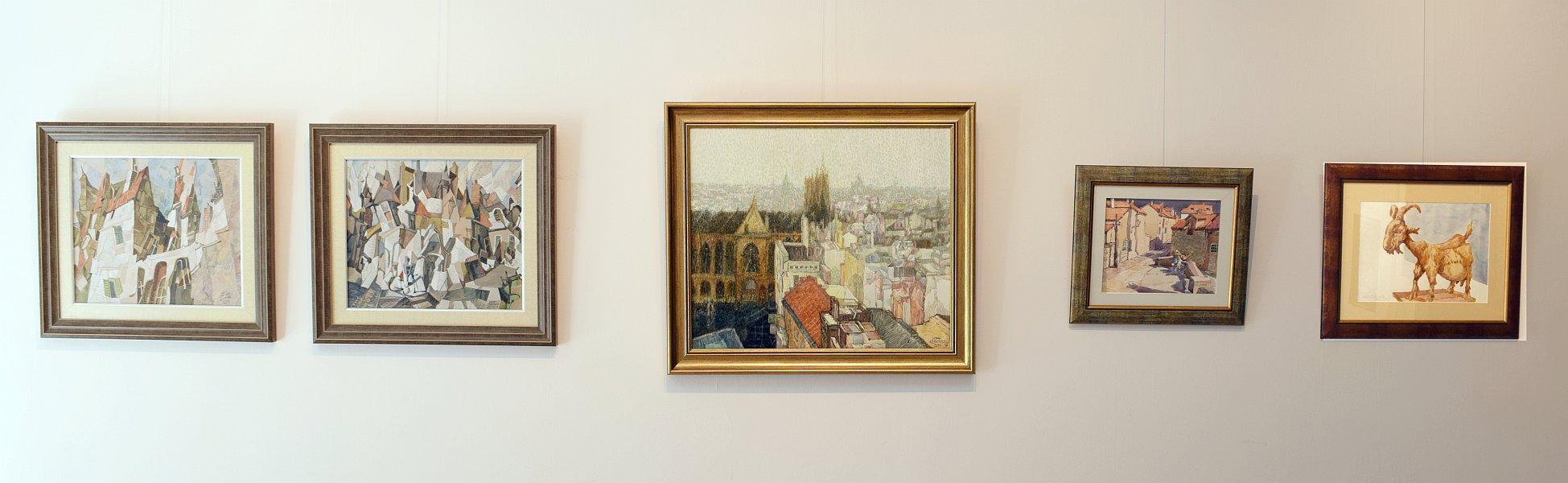 Izlozhba na Ivan Stratiev - galeria Paris-2017
