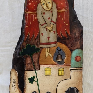Nenchevi - Angel II- 30x18