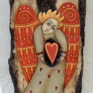Nenchevi - Angelat s chervenoto sartse-31x18