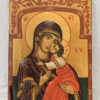 Nenchevi - Sveta Bogorodica Eleusa-36x25