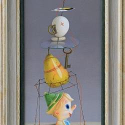 Marina Bogdanova - Pinocchio-30x16