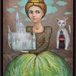 Елисавета Ангелова - Принцеса Марулка - 70x50