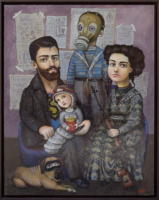 Елисавета Ангелова - Семеен портрет
