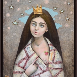 Елисавета Ангелова -Среднощна поезия 60x50