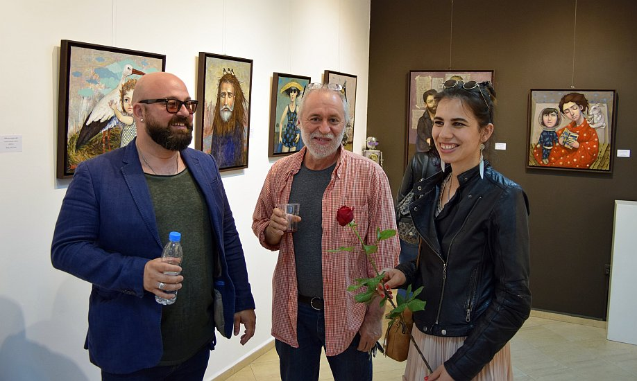 Николай Ангелов- Малин Димов и Елисавета Ангелова