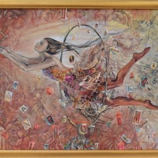 Даниела Зекина - Между думите-40x50