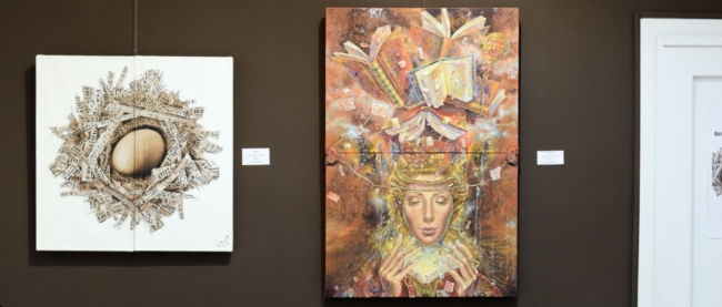 Izlozhba Daniela Zekina i Peter Boyadjieff -galeria Paris 2017