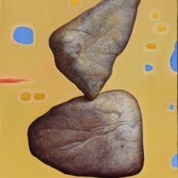 Daniela Samovolska-Ovcharova -Composition I 45x36cm