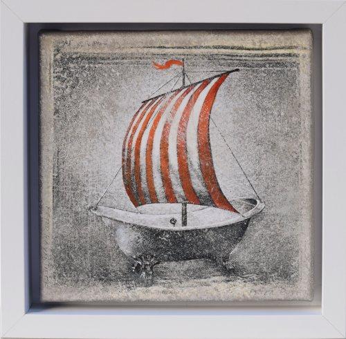Peter Boyadjieff - Travelling-20x20