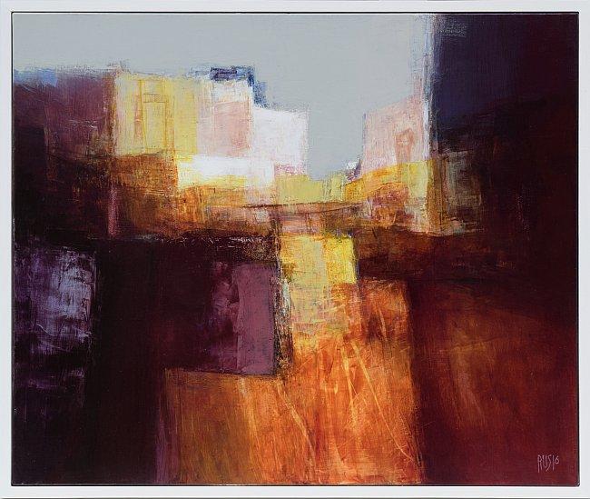 Руслан КОТЕВ - Спомени от Сицилия, абстрактна живопис