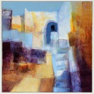Ruslan Kotev - Stromboli Stairway-61x61