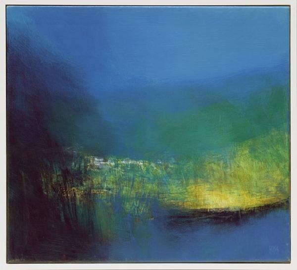 Ruslan Kotev - Thames Nocturne-50x55