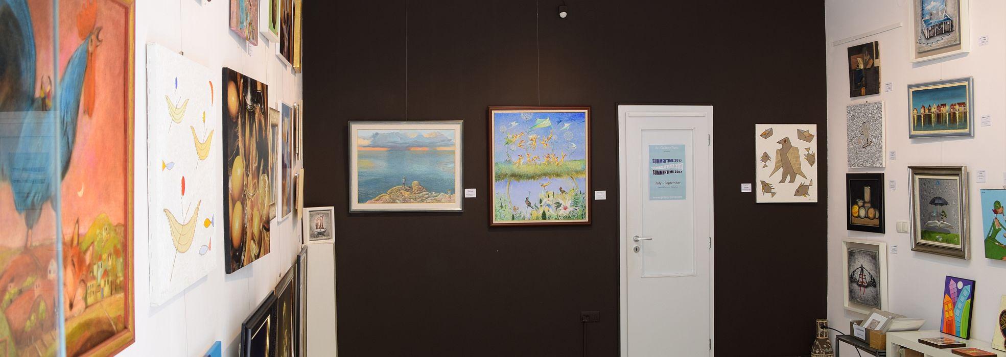 Summertime 2017 - Art Gallery Paris