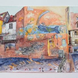 Sevda Poturlyan - Slanchevo grafitti - 32x50