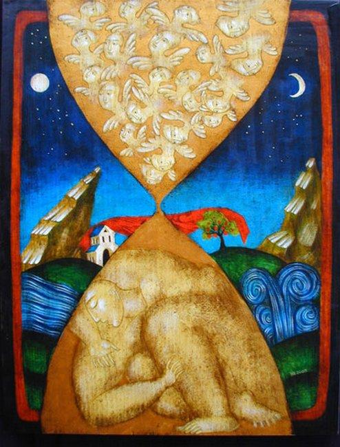 Julia Stankova - Jacob Dream 35x27- 2005